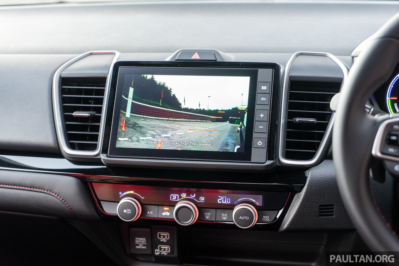 2020 Honda City Rs I Mmd Interior Paul Tan S Automotive News