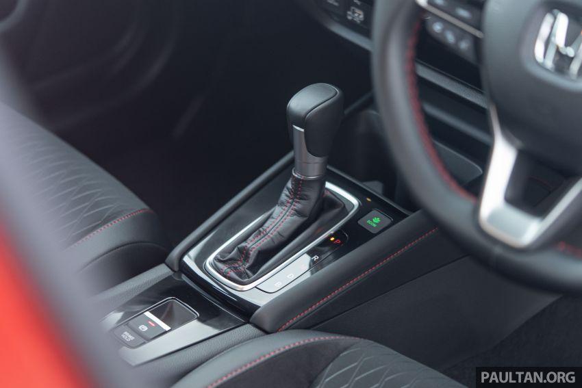 Honda City 2020 generasi kelima dilancarkan — empat varian, RS e:HEV, Honda Sensing; harga dari RM74k Image #1191272