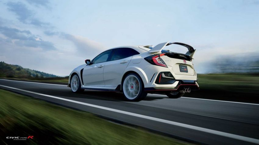 FK8 Civic Type R accessories by Honda Access Japan Image #1193103