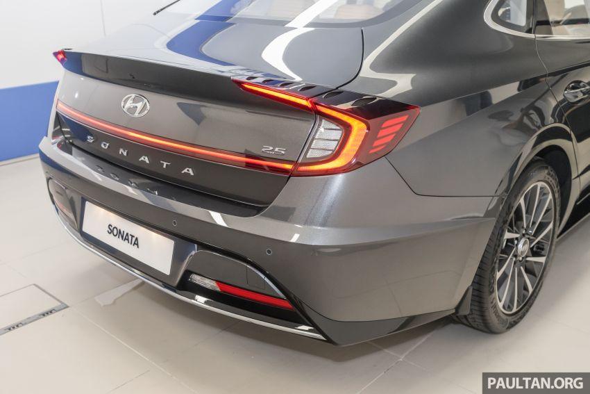 2020 Hyundai Sonata previewed in Malaysia – 2.5 MPI Image #1187318