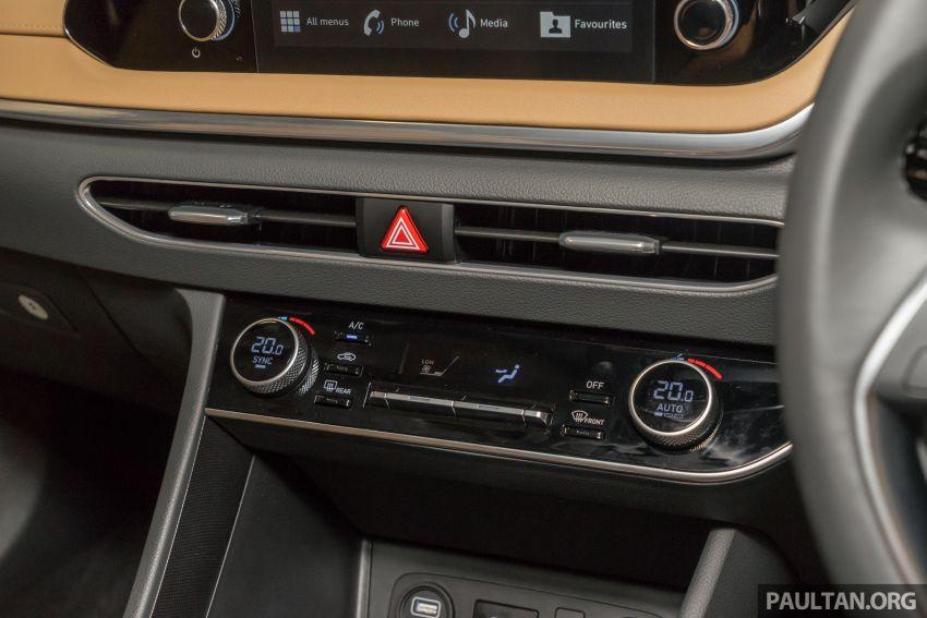 2020 Hyundai Sonata previewed in Malaysia – 2.5 MPI Image #1187337