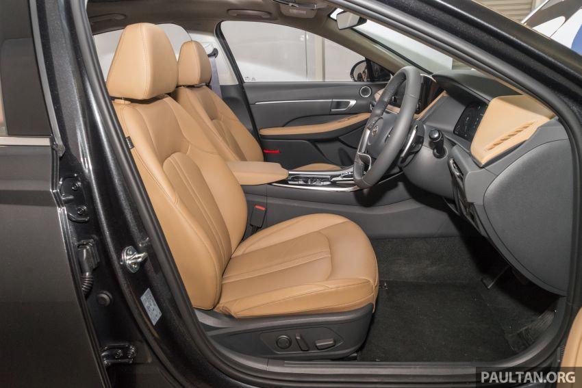 2020 Hyundai Sonata previewed in Malaysia – 2.5 MPI Image #1187347