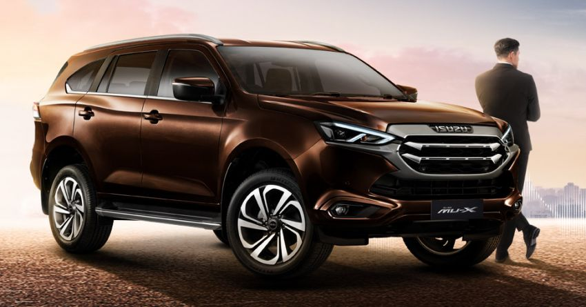 2020 Isuzu MU-X debuts – seven-seat SUV launched in Thailand with 1.9L and 3.0L turbodiesel engines, AEB Image #1201082