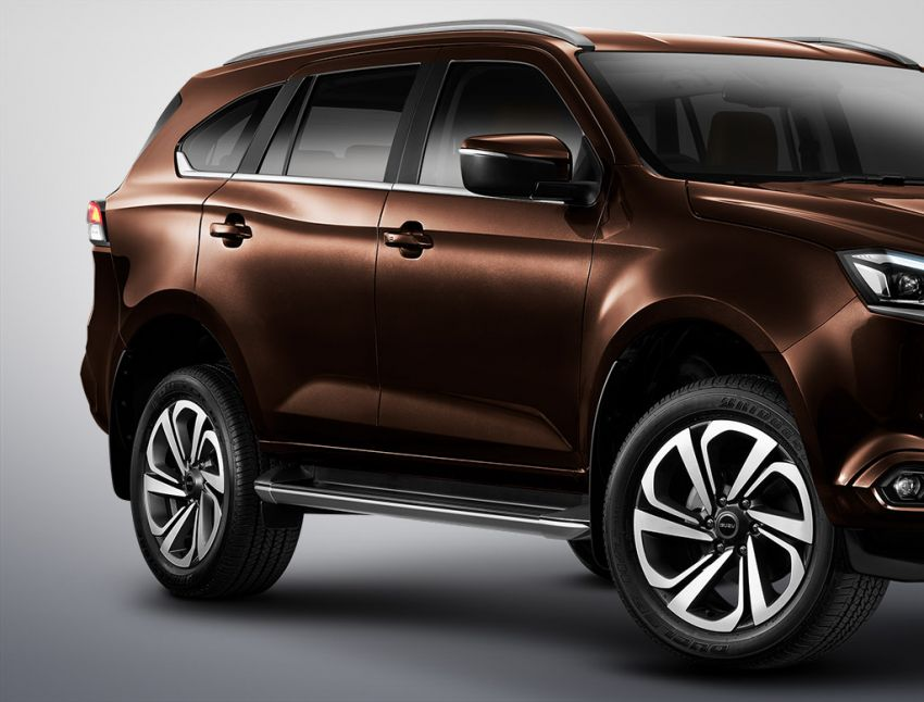 2020 Isuzu MU-X debuts – seven-seat SUV launched in Thailand with 1.9L and 3.0L turbodiesel engines, AEB Image #1201097
