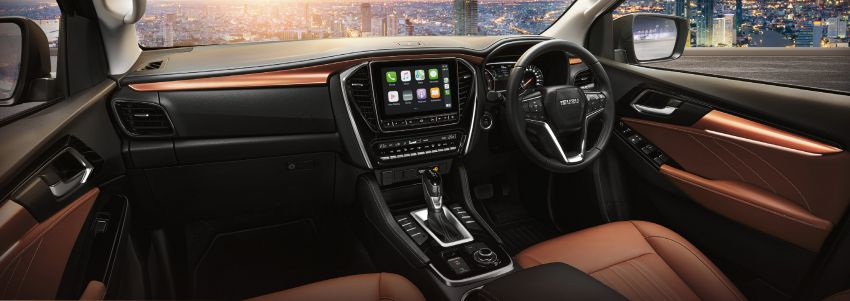 2020 Isuzu MU-X debuts – seven-seat SUV launched in Thailand with 1.9L and 3.0L turbodiesel engines, AEB Image #1201099