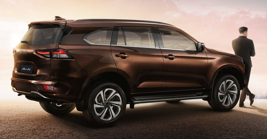 2020 Isuzu MU-X debuts – seven-seat SUV launched in Thailand with 1.9L and 3.0L turbodiesel engines, AEB Image #1201083