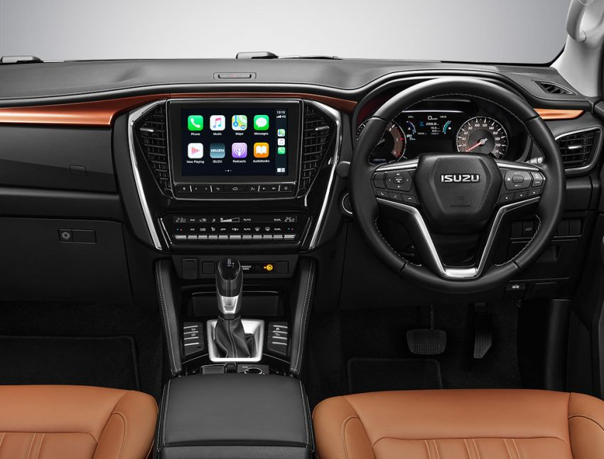 2020 Isuzu MU-X debuts – seven-seat SUV launched in Thailand with 1.9L and 3.0L turbodiesel engines, AEB Image #1201101