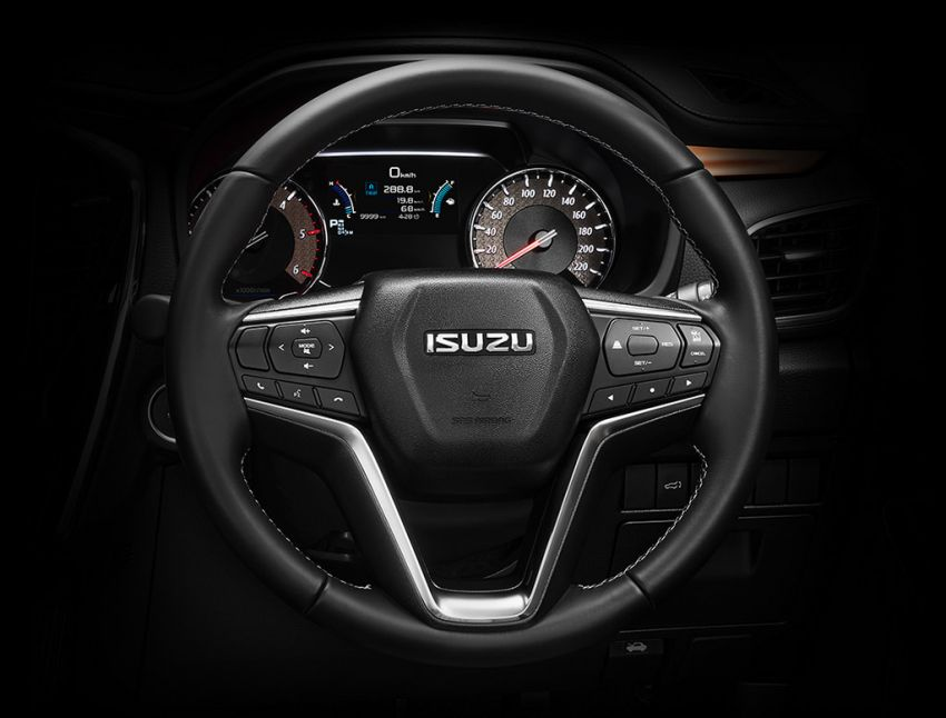 2020 Isuzu MU-X debuts – seven-seat SUV launched in Thailand with 1.9L and 3.0L turbodiesel engines, AEB Image #1201105