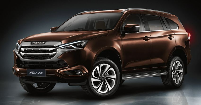2020 Isuzu MU-X debuts – seven-seat SUV launched in Thailand with 1.9L and 3.0L turbodiesel engines, AEB Image #1201084