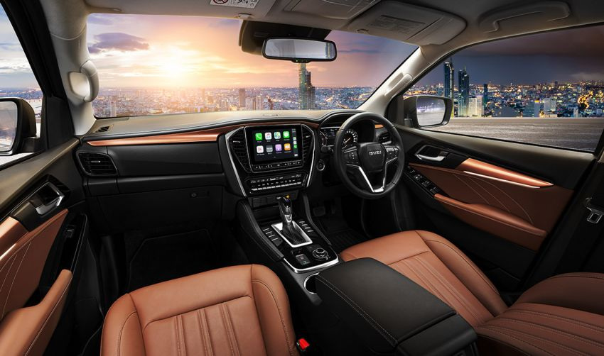 2020 Isuzu MU-X debuts – seven-seat SUV launched in Thailand with 1.9L and 3.0L turbodiesel engines, AEB Image #1201114