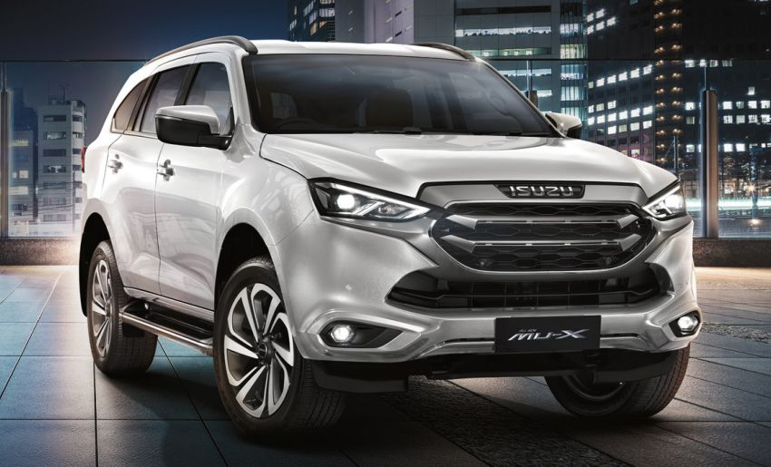 2020 Isuzu MU-X debuts – seven-seat SUV launched in Thailand with 1.9L and 3.0L turbodiesel engines, AEB Image #1201086