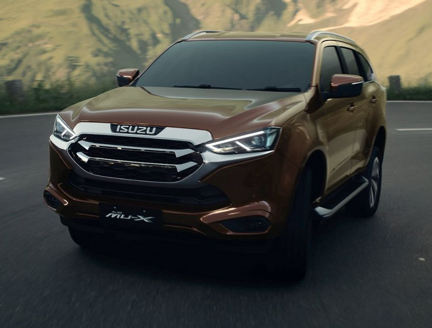 2020 Isuzu MU-X debuts – seven-seat SUV launched in Thailand with 1.9L and 3.0L turbodiesel engines, AEB Image #1201088