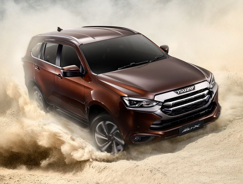 2020 Isuzu MU-X debuts – seven-seat SUV launched in Thailand with 1.9L and 3.0L turbodiesel engines, AEB Image #1201090
