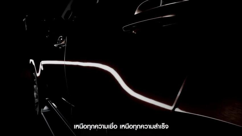Isuzu MU-X baharu dilancarkan di Thai pada 28 Okt Image #1195426