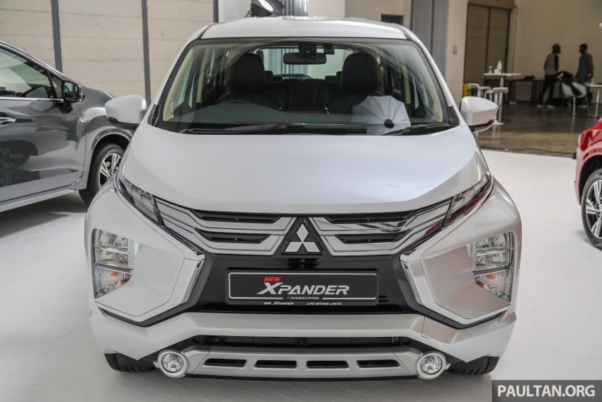 Mitsubishi Xpander open for booking – under RM100k, 9-inch touchscreen with Apple CarPlay, Android Auto Image #1196859