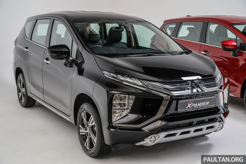 Mitsubishi Xpander open for booking – under RM100k, 9-inch touchscreen with Apple CarPlay, Android Auto Image #1196861