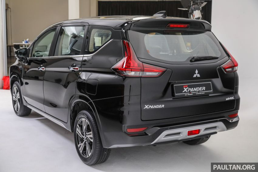 Mitsubishi Xpander open for booking – under RM100k, 9-inch touchscreen with Apple CarPlay, Android Auto Image #1196862
