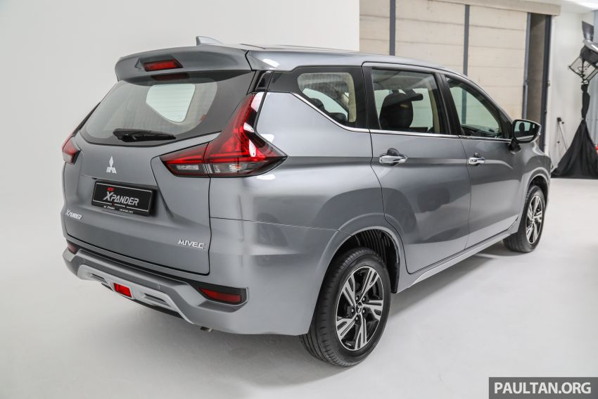 Mitsubishi Xpander open for booking – under RM100k, 9-inch touchscreen with Apple CarPlay, Android Auto Image #1196865