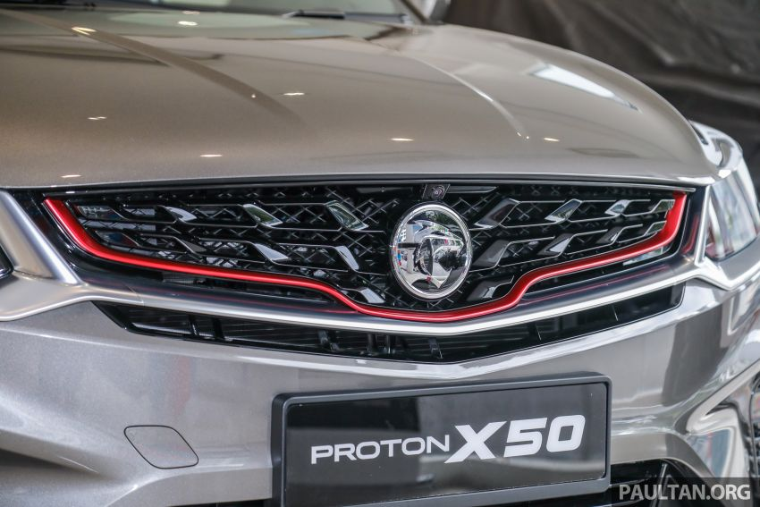 Proton X50 SUV launched – RM79,200 to RM103,300 Image #1200190