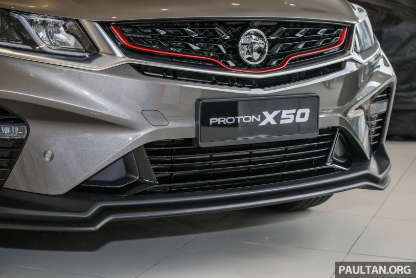 Proton X50 SUV launched – RM79,200 to RM103,300 Image #1200191