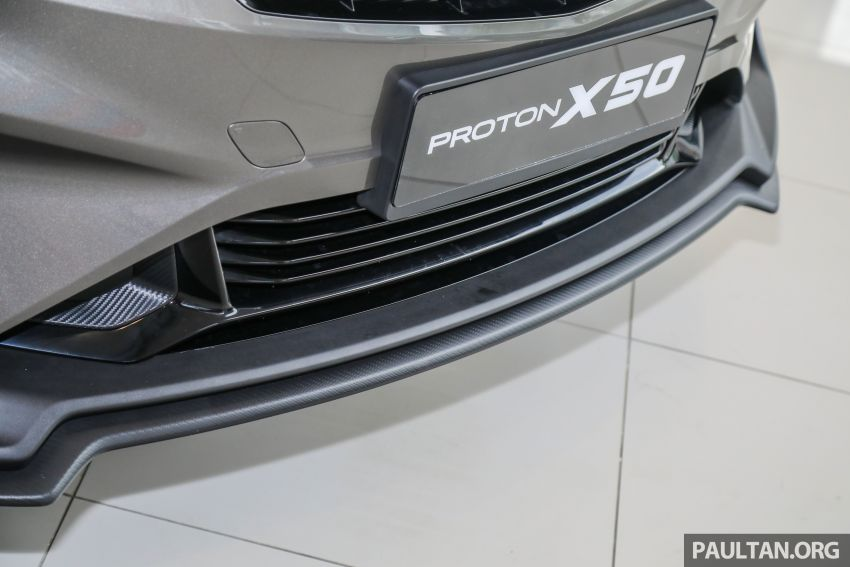 Proton X50 SUV launched – RM79,200 to RM103,300 Image #1200192