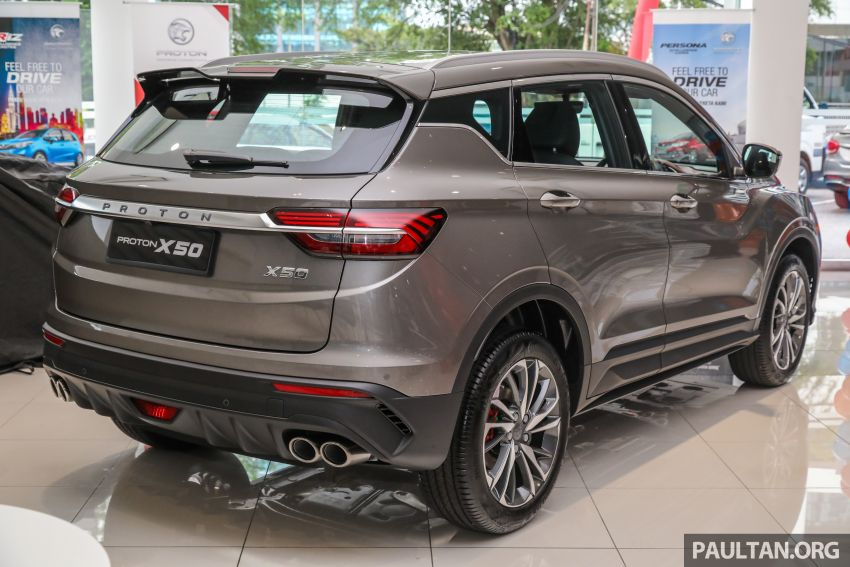 Proton X50 SUV launched – RM79,200 to RM103,300 Image #1200182