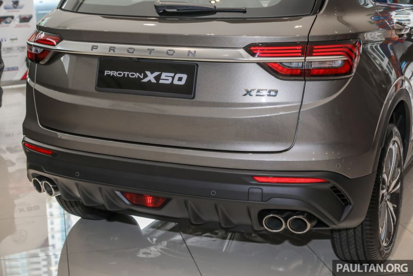 Proton X50 SUV launched – RM79,200 to RM103,300 Image #1200201