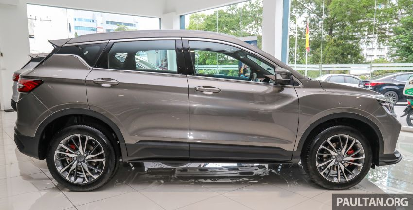 Proton X50 SUV launched – RM79,200 to RM103,300 Image #1200183