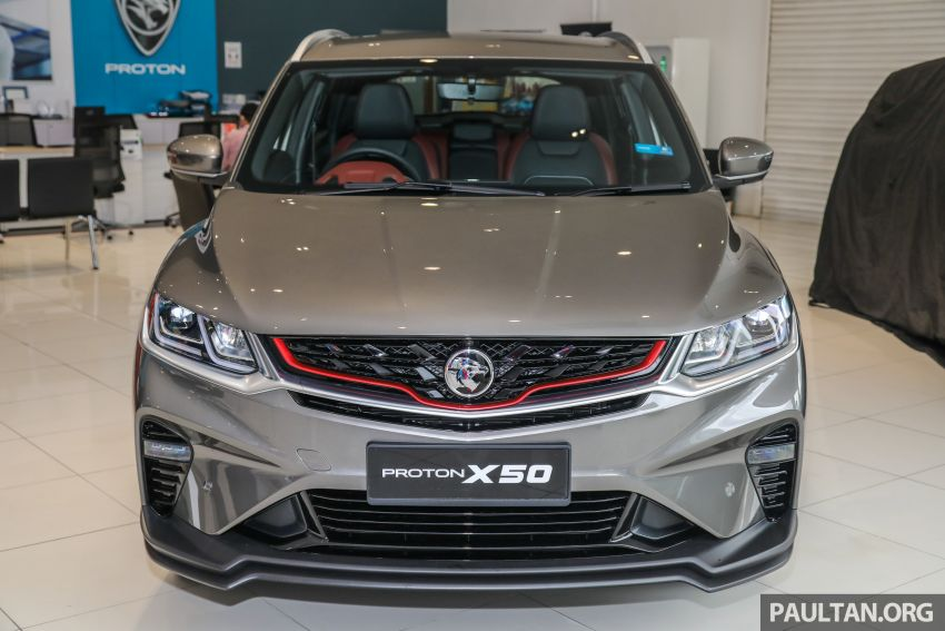 Proton X50 SUV launched – RM79,200 to RM103,300 Image #1200184