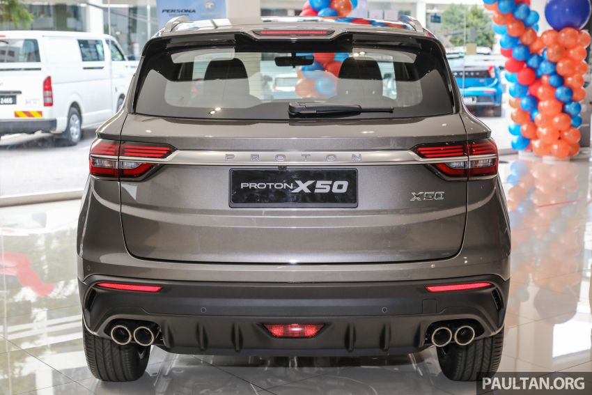 Proton X50 SUV launched – RM79,200 to RM103,300 Image #1200185