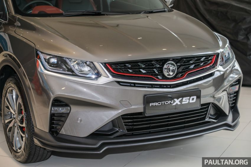 Proton X50 SUV launched – RM79,200 to RM103,300 Image #1200186