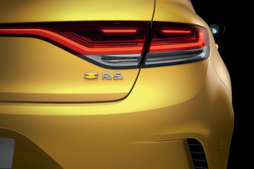 Renault Megane RS 300 facelift in UK as EDC auto only Image #1189108