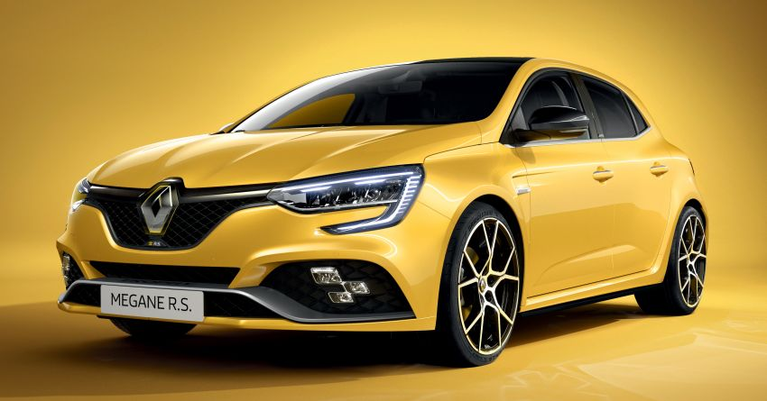 Renault Megane RS 300 facelift in UK as EDC auto only Image #1189104