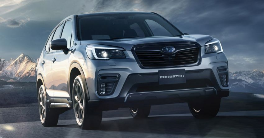 Subaru Forester gets turbo power in Japan – 1.8 litre unit with 177 PS, 300 Nm; Lineartronic CVT and AWD Image #1199113