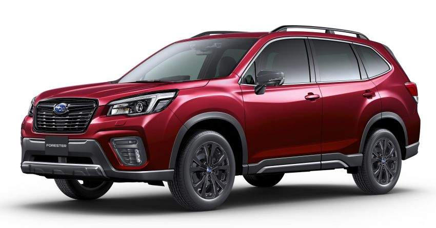Subaru Forester gets turbo power in Japan – 1.8 litre unit with 177 PS, 300 Nm; Lineartronic CVT and AWD Image #1199122
