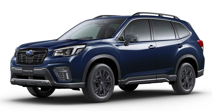 Subaru Forester gets turbo power in Japan – 1.8 litre unit with 177 PS, 300 Nm; Lineartronic CVT and AWD Image #1199123