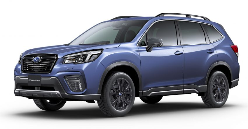 Subaru Forester gets turbo power in Japan – 1.8 litre unit with 177 PS, 300 Nm; Lineartronic CVT and AWD Image #1199124
