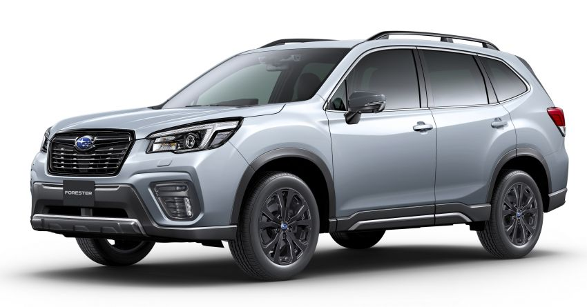 Subaru Forester gets turbo power in Japan – 1.8 litre unit with 177 PS, 300 Nm; Lineartronic CVT and AWD Image #1199125