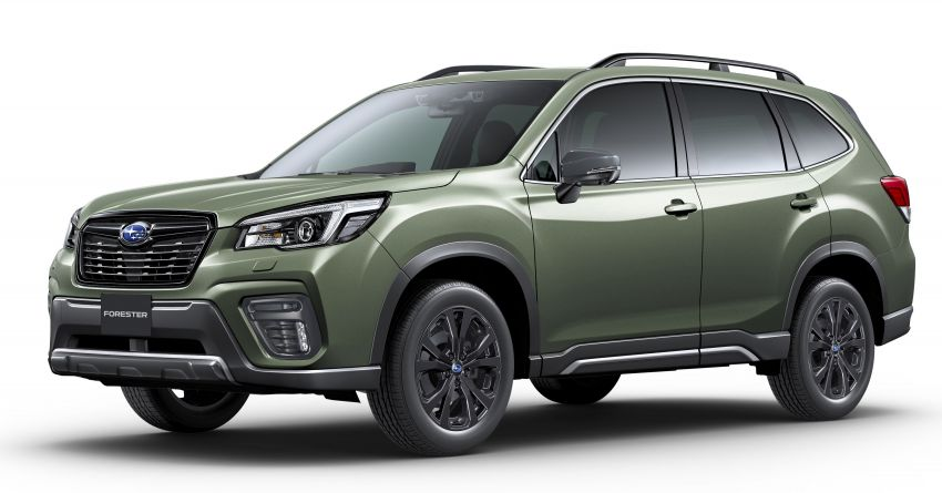 Subaru Forester gets turbo power in Japan – 1.8 litre unit with 177 PS, 300 Nm; Lineartronic CVT and AWD Image #1199126
