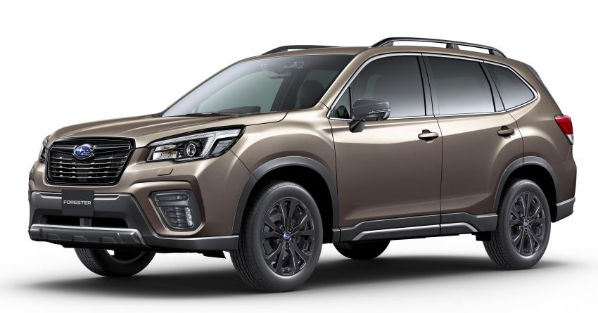 Subaru Forester gets turbo power in Japan – 1.8 litre unit with 177 PS, 300 Nm; Lineartronic CVT and AWD Image #1199128