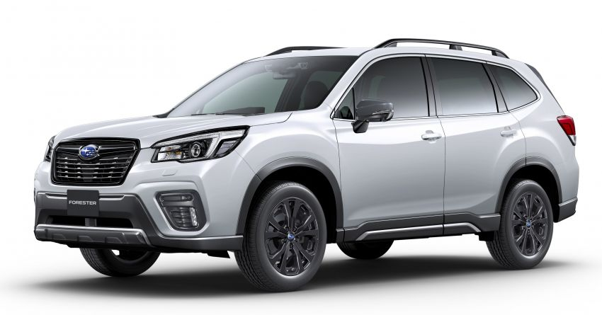 Subaru Forester gets turbo power in Japan – 1.8 litre unit with 177 PS, 300 Nm; Lineartronic CVT and AWD Image #1199129