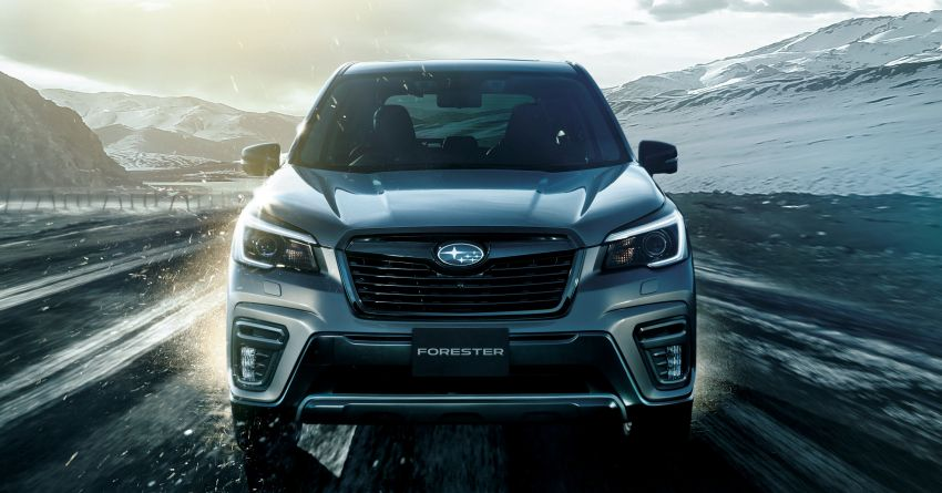 Subaru Forester gets turbo power in Japan – 1.8 litre unit with 177 PS, 300 Nm; Lineartronic CVT and AWD Image #1199115