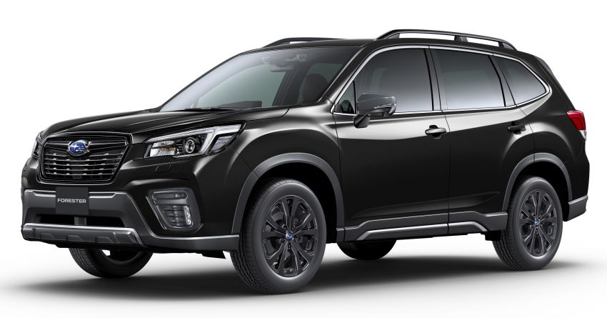 Subaru Forester gets turbo power in Japan – 1.8 litre unit with 177 PS, 300 Nm; Lineartronic CVT and AWD Image #1199121