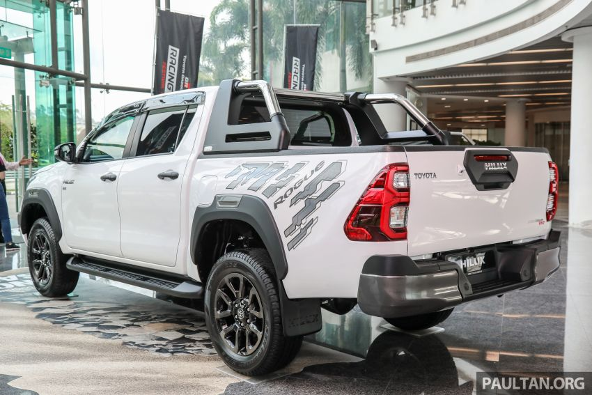 2021 Toyota Hilux facelift launched in M'sia – power bump for 2.8L Rogue, 10k service interval, from RM93k Image #1189042