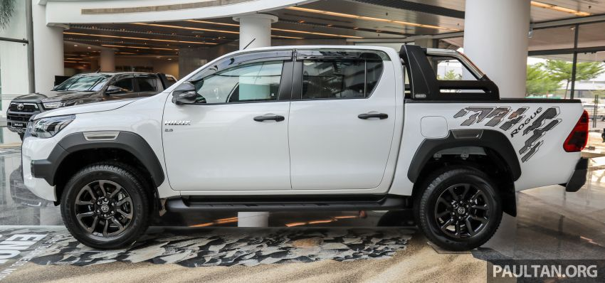 2021 Toyota Hilux facelift launched in M'sia – power bump for 2.8L Rogue, 10k service interval, from RM93k Image #1189045