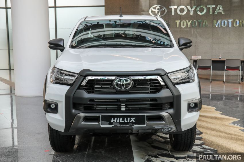 2021 Toyota Hilux facelift launched in M'sia – power bump for 2.8L Rogue, 10k service interval, from RM93k Image #1189046