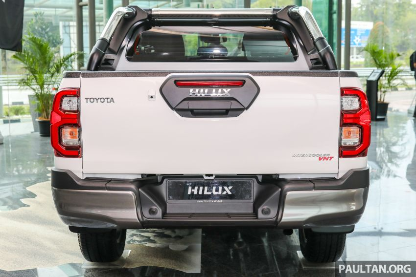 2021 Toyota Hilux facelift launched in M'sia – power bump for 2.8L Rogue, 10k service interval, from RM93k Image #1189048
