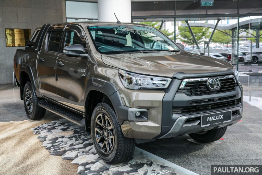 2021 Toyota Hilux facelift launched in M'sia – power bump for 2.8L Rogue, 10k service interval, from RM93k Image #1189052