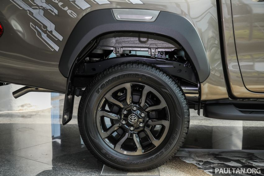 2021 Toyota Hilux facelift launched in M'sia – power bump for 2.8L Rogue, 10k service interval, from RM93k Image #1189085