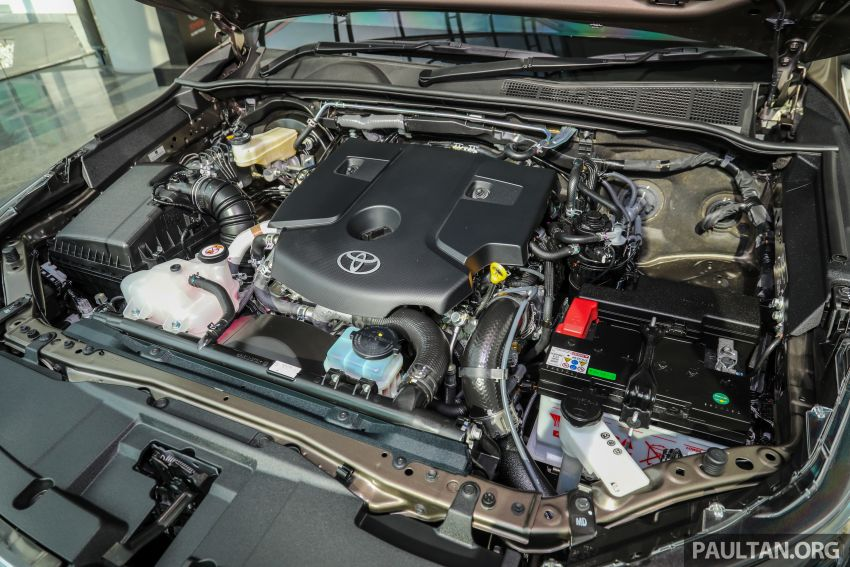 2021 Toyota Hilux facelift launched in M'sia – power bump for 2.8L Rogue, 10k service interval, from RM93k Image #1189094